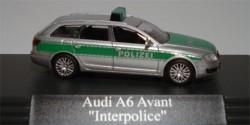 Audi A6 Avant Polizei 'Interpolice'
