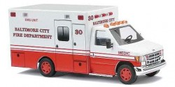 Ford E-350 Baltimore City Ambulance