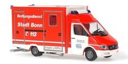Mercedes Benz Sprinter RTW Rettungsdienst Stadt Bonn