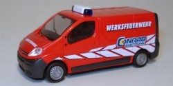 Opel Vivaro Werksfeuerwehr Conrad Electronic