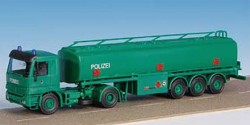 Mercedes Benz Actros Tanksattelzug Polizei