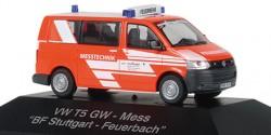 VW T5 Messtechnik Feuerwehr Stuttgart