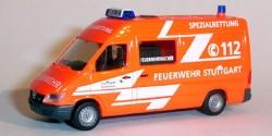Mercedes Benz Sprinter Feuerwehr Stuttgart Taucher
