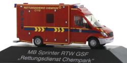 Mercedes Benz Sprinter RTW Chempark Leverkusen