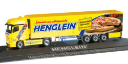 Mercedes Benz Actros Bigspace Kühlkoffer-Sattelzug Henglein Pizzateig