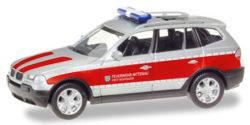 BMW X3 ELW Feuerwehr Nittenau